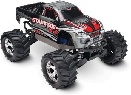 Traxxas TRX67054-1 Stampede XL-5 4WD RTR Sliver